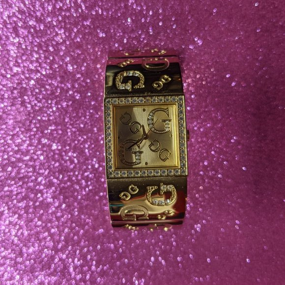 GUESS Ladies Gold Tone Stainless Steel watch